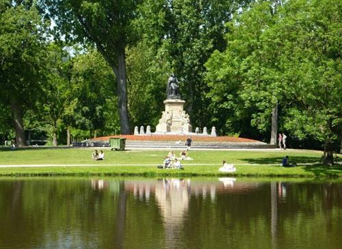 Le parc Vondel (Vandelpark)