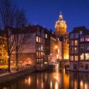 Découvrez les monuments d'Amsterdam à découvrir de nuit